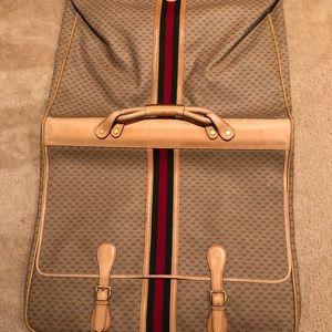 Gucci Vintage Suit Bag